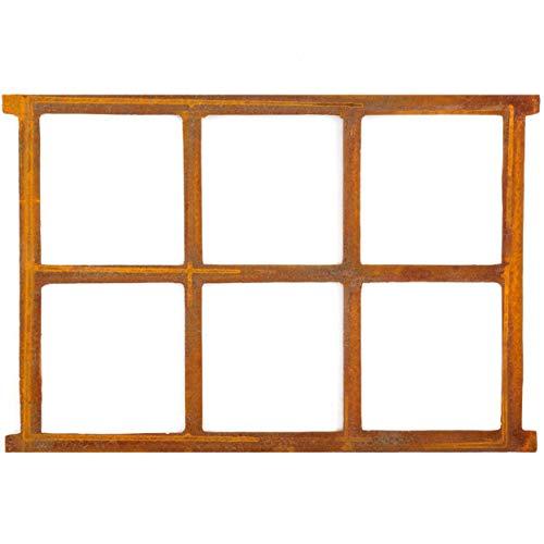Stallfenster Eisenfenster Scheunenfenster Eisen Fenster 68x49cm im Antik-Stil