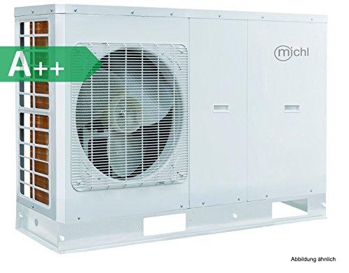 Michl Inverter de aire y agua Bomba de calor 8kW