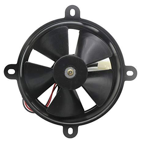 KKmoon Ventilador de Refrigeración Térmica para Radiador Eléctrico Cuadrado DC para Moto ATV Quad Dirt Bike 150CC 250CC