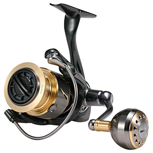 Belleashy Carrete de pesca 11+1BB Spinning Reel para pesca de mar (tamaño: tamaño libre; color: 3)