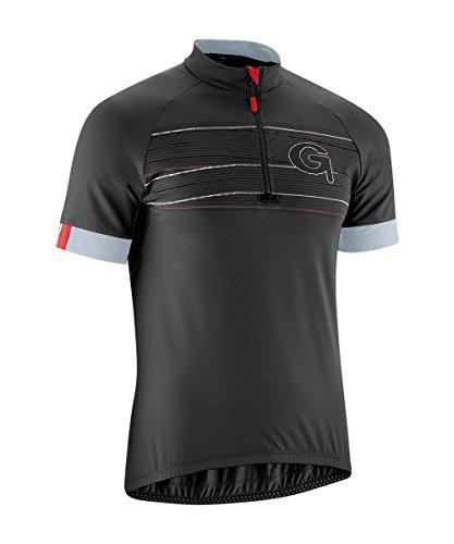 Gonso Maillot de Cyclisme Leon Maillot et T-Shirt S Noir