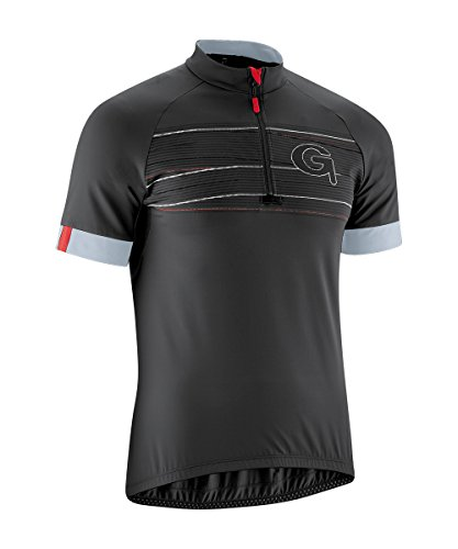 Gonso Herren Leon Radtrikot Trikot Und Shirt, Black, S