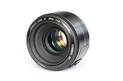 YONGNUO YN50mm F1.8 Standard Prime Lens Large Aperture Auto Focus Lens for Canon EF Mount Rebel DSLR Camera by YONGNUO