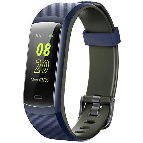 Willful Orologio Fitness Tracker Uomo Donna Smartwatch Cardiofrequenzimetro da Polso Contapassi Smartband Bluetooth Orologio Sportivo Android iOS Compatibile Pedometro Conta Calorie Impermeabile IP68