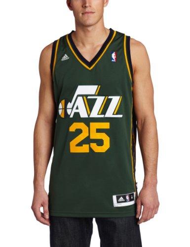 NBA Men's Utah Jazz Al Jefferson Revolution 30 Alternate Swingman Jersey (Navy, X-Large)