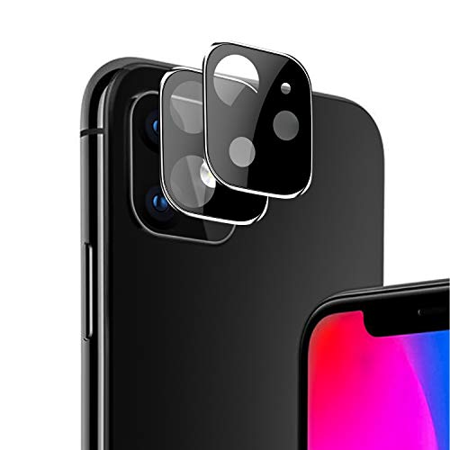 OEAGO Upgraded Version[2 Pcs] Compatible with iPhone 11 [6.1 inch] Screen Protector Camera Lens(2019),Ultra Thin, High Definition, Anti-Scratch, Anti-Fingerprint.