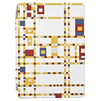 RECASO 赤い 黄色 ipad mini4 ケース ipadMini4 カバー iPad mini4 ケース カバー スタンドケース オートスリープ機能付き アイパッドミニ 衝撃吸収