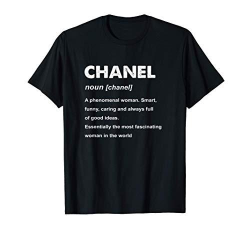 Chanel Name Gift T-Shirt