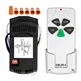 Eogifee Universal Ceiling Fan Remote Control and Receiver Kit with 3 Speed and Light Dimmer Control Replacement of Hampton Bay Harbor Breeze Hunter FAN-53T 2AAZPFAN-53T UC7030T FAN-11T KUJCE9103 Kit