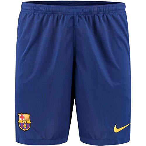 Nike Herren Fußballshorts FC Barcelona 19/20 Stadium Home/Away, Deep Royal Blue/Varsity Maize, XL, AJ5705-455