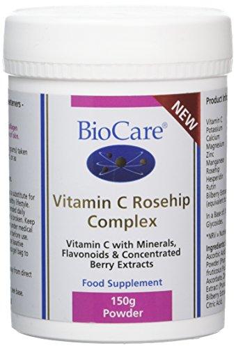 BioCare Vitamin C Rosehip Complex Powder, 150 g