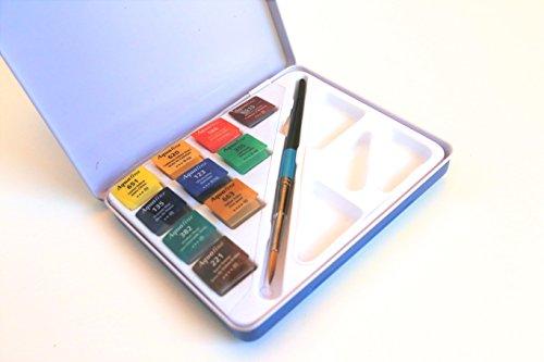 Daler-Rowney Mini Half Pan Travel Tin, Assorted Colors