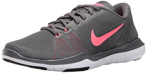 NIKE Women's Flex Supreme TR 5 Cross Training Shoe, Dark Grey, 10 B(M) US