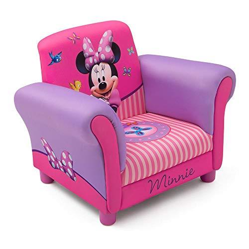Minnie Mouse Kindersessel mit Holzrahmen (Rosa)