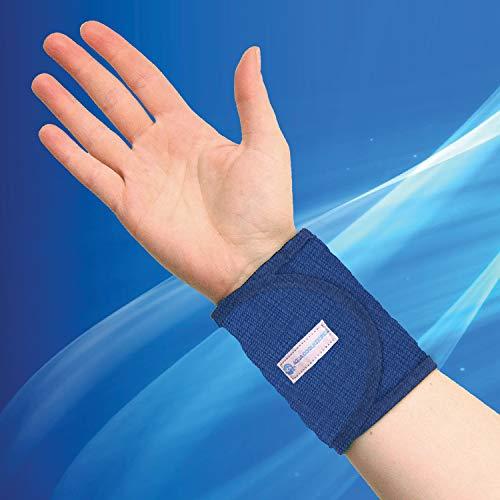 Aqua Coolkeeper 50AQWRPB09 Kühlarmband Unisex Erwachsene, Blau