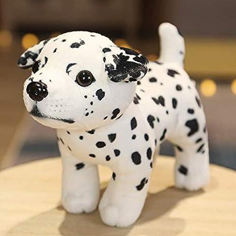mangege 18CM simulación Lindo Perro Juguetes de Peluche Encantador Husky Akita Rottweiler Animal Perro muñecas Peluches de Peluche para niños G