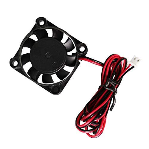 iplusmile Cooling Fan - Radiating Fan Cooling 12V 0.12A Cooling Fan Small Duable Brushless Fan Radiator System for 3D Printer