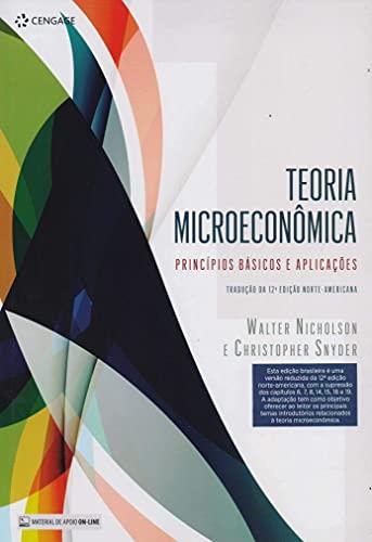 Teoria Microeconômica: Princípios Básicos E Aplicações