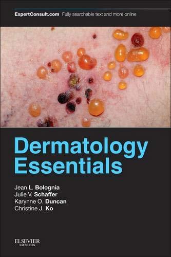 Compare Textbook Prices for Dermatology Essentials, 1e 1 Edition ISBN 0884286617240 by Bolognia MD, Jean L.,Schaffer MD, Julie V.,Duncan MD, Karynne O.,Ko MD, Christine J.