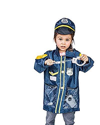 Dress up America Pequeño Chico Policía Officer Juego de rol Juego de...