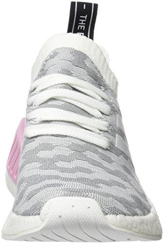 adidas Damen NMD_R2 Primeknit Sneaker, Weiß - 2