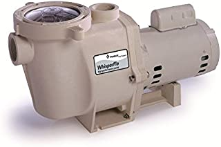 Pentair 012518 WhisperFlo High Performance Energy Efficient Two Speed Up Rated Pool Pump, 1 1/2 Horsepower, 230 Volt, 1 Phase - Energy Star Certified