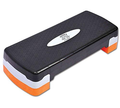 Phoenix Fitness Regolabile per Aerobica, Yoga, Palestra, Esercizi Stepper Board