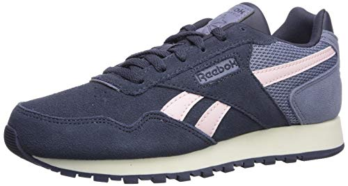 Reebok womens Reebok Classic Harman Running Shoe, Navy/Pink/White, 10.5 US