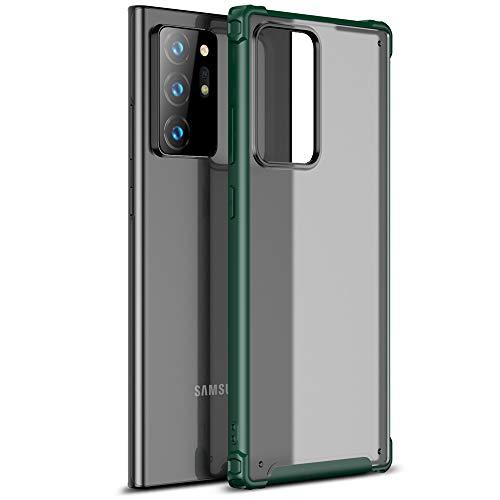 TECHGEAR Funda Galaxy Note 20 Ultra Transparente al Dorso [Fusion FX] Protección Resistente a los Golpes, AntiChoque y Antiarañazos Diseñado para Samsung Galaxy Note 20 Ultra Carcasa (Verde)