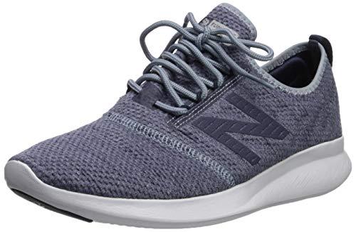 New Balance Men's Coast V4 FuelCore Running Shoe, Reflection/Pigment, 7 4E US