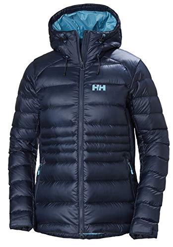 Helly Hansen Damen Vanir Icefall Wärme Licht Daunenjacke, North Sea Blue, M