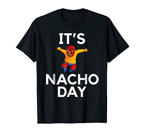 Lucha Libre T-Shirt tshirt tee funny Nacho Shirt gift