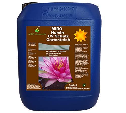 MIBO Humin UV Schutz Gartenteich 5000ml ausreichend für 125.000 Liter