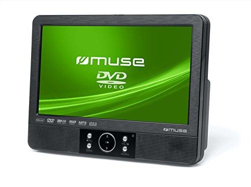 Muse M-920 CVB draagbare DVD-speler auto, plastic, zwart