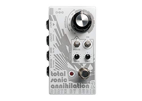 Death By Audio Morte Por Áudio Tsa 2 Total De Sonic Aniquilação 2 Comentários Looper Pedal Efeitos Para Guitarra Cinza