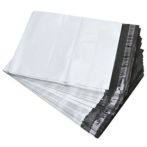 SJPACK Poly Mailers 10x13-inch 100 Bags 2.5 Mil Poly Mailers Envelopes Bags with Self-Sealing Strip Grey Poly Bags