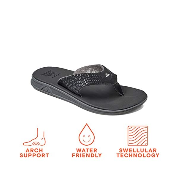 Reef Men's Sandals Rover | Water-Friendly Men's Sandal with Maximum Durability and Comfort | Waterproof