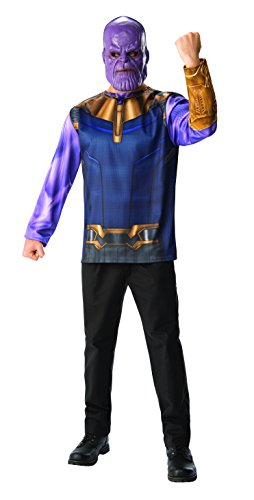 Rubie's Men's Marvel Avengers Infinity War Thanos Costume Top and Mask, X-Large