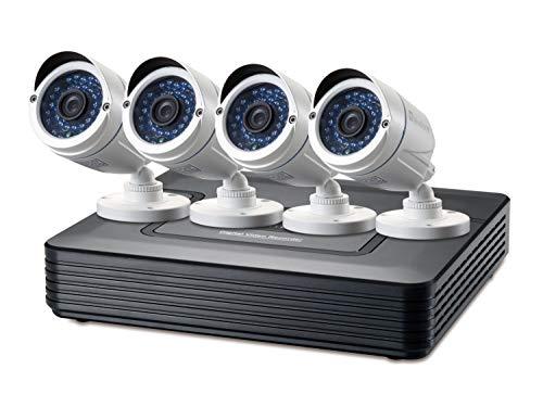 Kit VIDEOVIGILANCIA 720P LEVEL ONE DSK-4001 4 Canales 4 CAMARAS INT/EXT +...