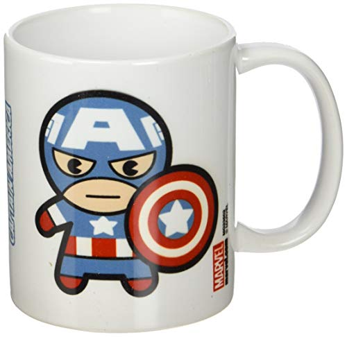 Pyramid International Marvel Kawaii - Taza Captain America, 320 ML