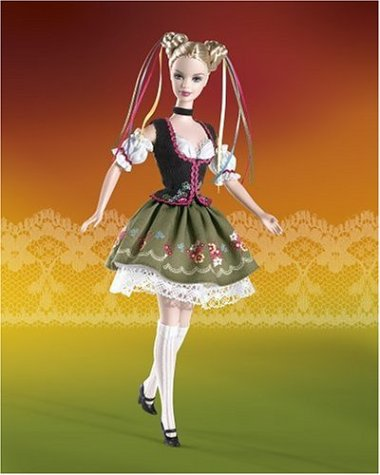 Barbie Dolls of the Word: Octoberfest Barbie Doll