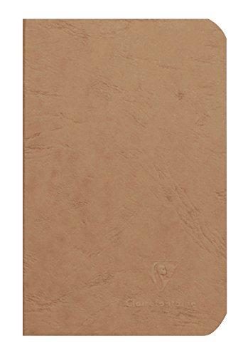 Clairefontaine 73410C Linea Age Bag Quaderno Spillato 9X14 96P Pagina Neutra Tabacco