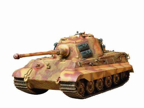 Tamiya 300035164 - 1:35 WWII SdKfz.182 Panzer VI Königstiger(1)