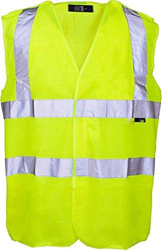 Yoko Warnweste, Unisex, Arbeitskleidung, ärmellos, Arbeitskleidung Gr. Medium, Schwarz