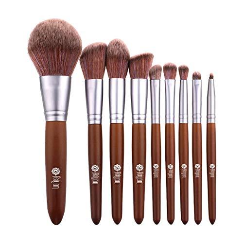 WINJIN Pinceaux Maquillage Brosses Ensemble de 5PCS / 7PCS Outils de maquillage Beauté Premium Brosse Cosmétiques Make Up Brosses pour Fondation Sourcils Eyeliner