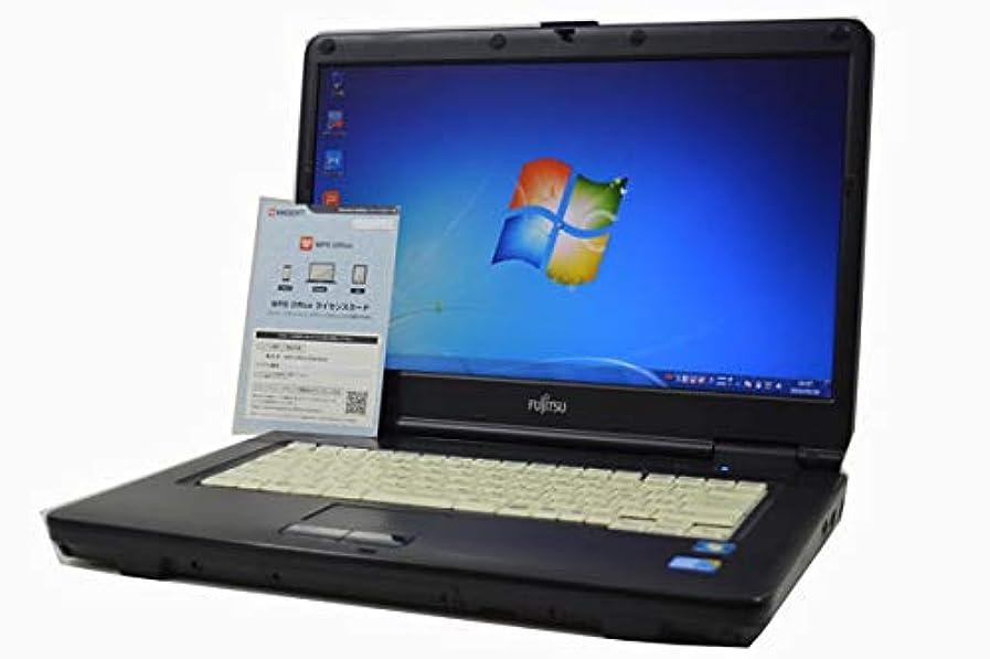 ジレンマ関係ないノートパソコン 【Office搭載】 富士通 FMV LIFEBOOK A550 Core i5 560M HD 15.6インチ 4GB/320GB/DVDROM/Windows 7 DtoD リカバリディスク作成機能