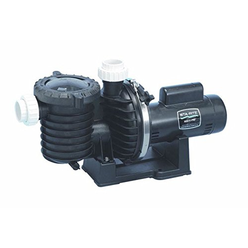 Pentair Sta-Rite P6EA6F-206L Max-E-Pro Energy Efficient Single Speed Up Rated Pool and Spa Pump, 1-1/2 HP, 115/230-Volt