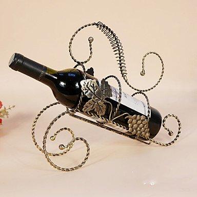 Z@SS Casiers À Bouteilles Fonte,29 * 9.5 * 26CM du Vin Accessoires