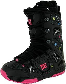 e7e44ec4d0d4 DC Phase Womens Lace Stock Liner Snowboard Boots Size 6 Black Crazy Pink
