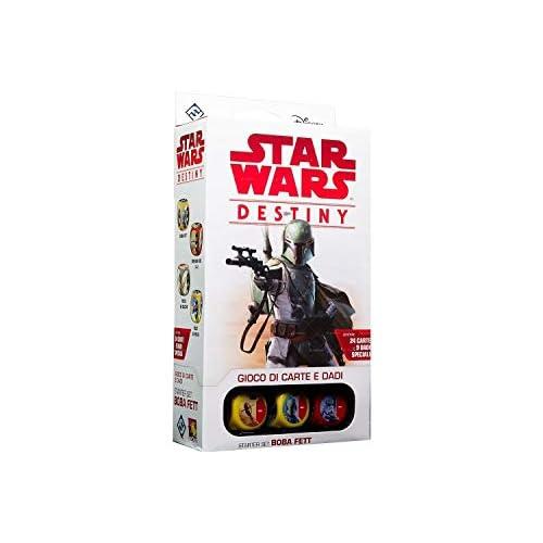 Asmodee- Star Wars: Destiny-Starter Set Boba Fett espansione Gioco da Tavolo, Colore, 9507